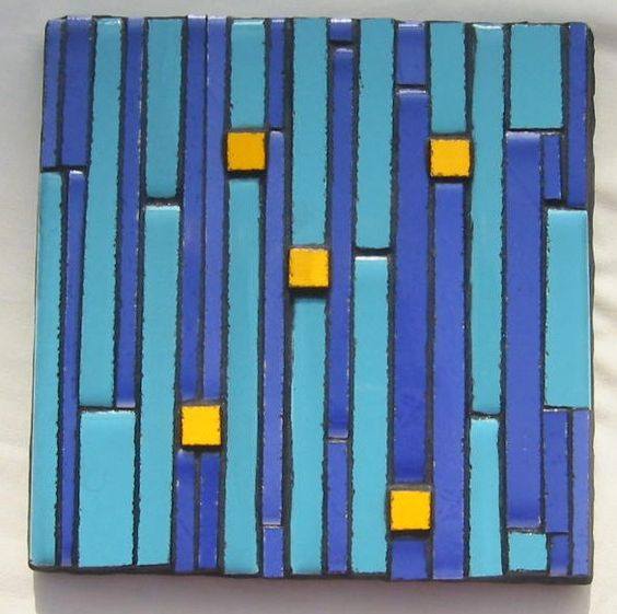 Tile design for wall hanging