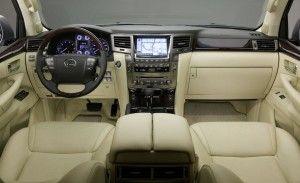 2015 Lexus LX interior www.newportlexus.com