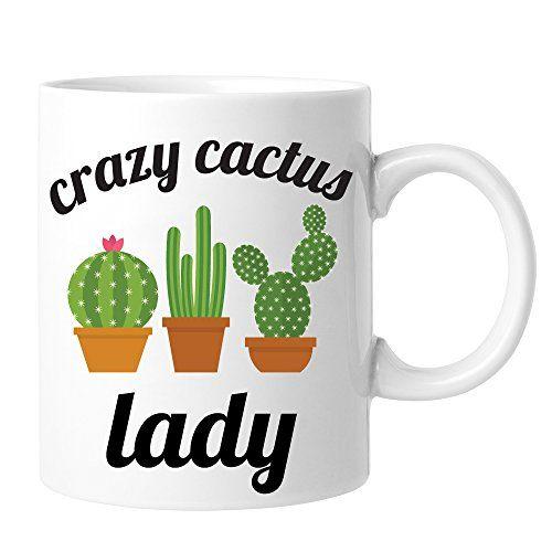 Crazy Cactus Lady Coffee Mug Mugs Coffee Mugs Mugs Set