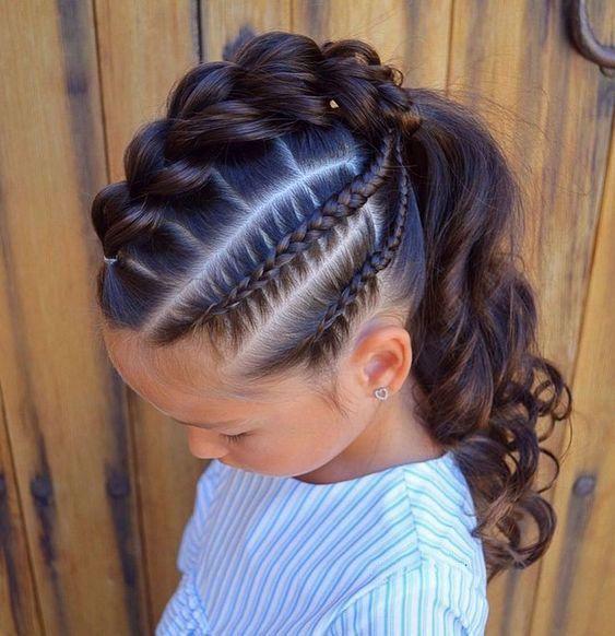 Coiffure Coiffure Pour Enfants Coiffure Pour L Ecole Litt Coiffure Enfants L39ecole Litt Pour Girl Hair Dos Medium Length Hair Styles Kids Hairstyles