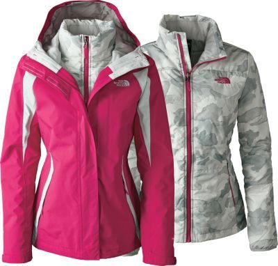 Three levels of cold-weather protection in one versatile package ...