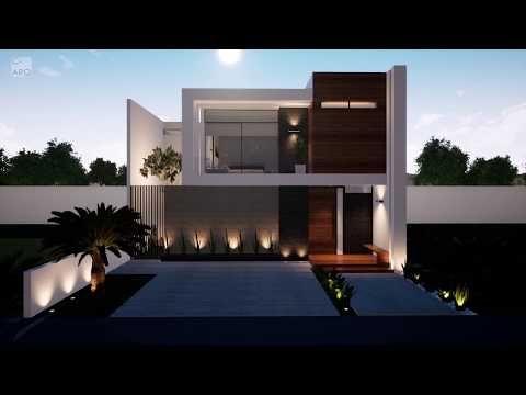 Casa 10x17 M House 10x17 M Recorrido Virtual 3d L Casa Con Alberca Youtube En 2021 Contruccion De Casas Casas Estilo Minimalista Planos De Casas