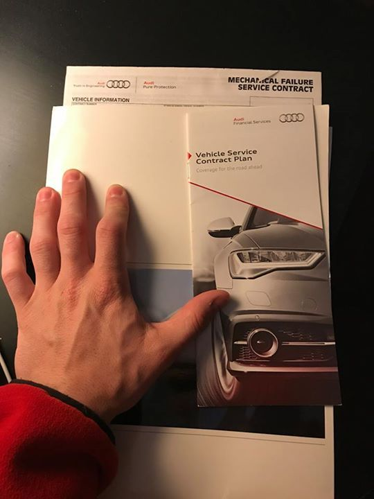 Hi Audi, here is the advertising and contract (with my personal