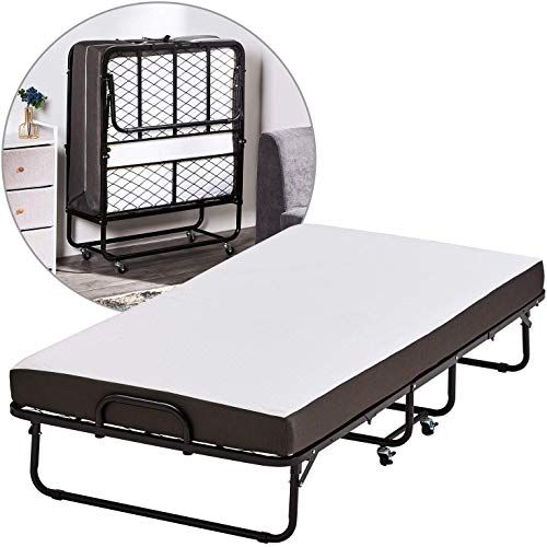 New Forfar Foldable Folding Bed Twin Size Rollaway Bed 5 Inch