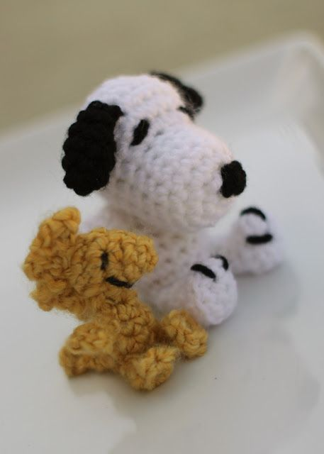 Snoopy and Woodstock crochet patterns Crochet & Such ...