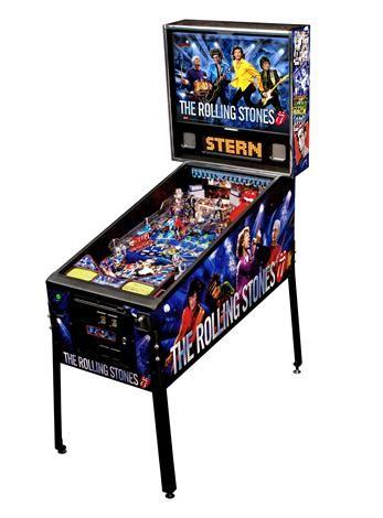 The Rolling Stones Pinball Machine, by Stern, $4795  @Tori Alcala-Martini