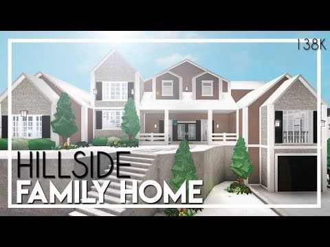 Bloxburg Idase In 2020 Riverside House Two Story House Design Home Building Design