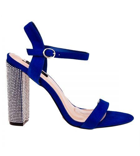 Modne Sandaly Na Slupku Obcas Cyrkoniami Heels Shoes Sandals