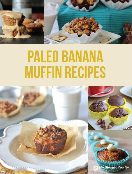 Paleo banana muffin recipes. Lately, I have been interested in finding a lot of good Paleo banana muffins recipes to try. I really like muffins and they are great to make ahead of time.