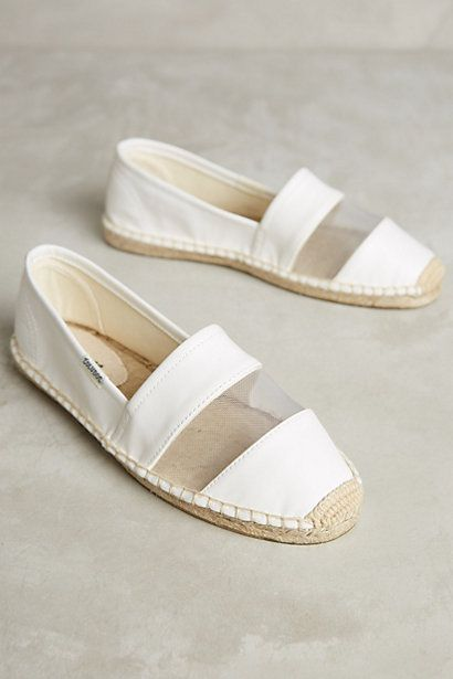 Soludos Vegan Leather Espadrilles #anthropologie: