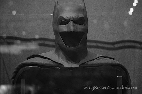 Ben Affleck's BATMAN cowl from BATMAN v SUPERMAN: DAWN OF ... Batman Cowl Ben Affleck
