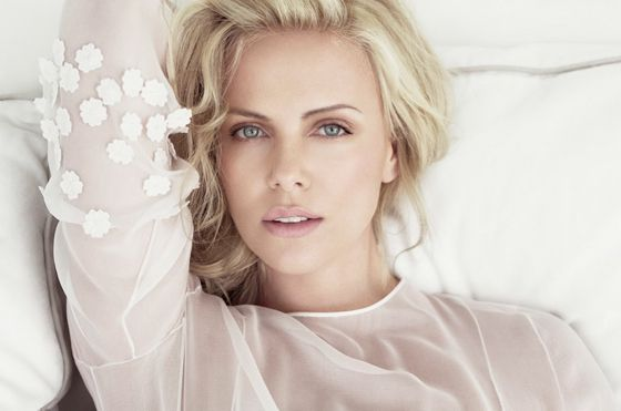 Charlize Theron (by Tom Munro)