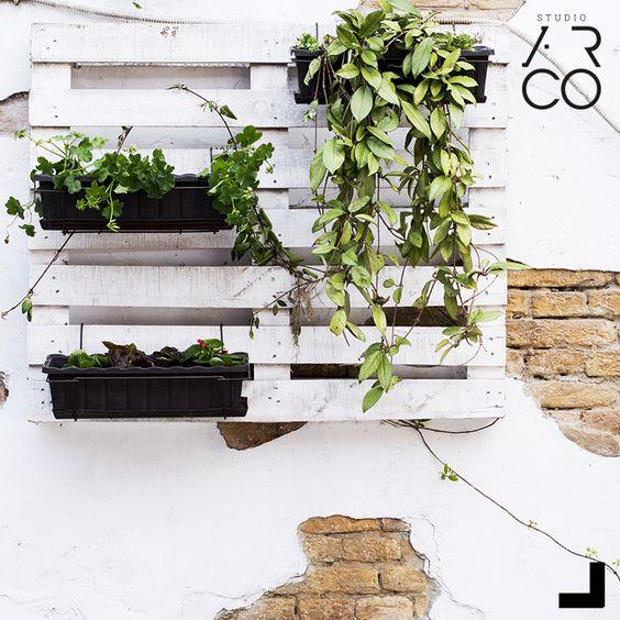 Studio Ar.Co - #decor #design #inspiration #garden #flower #wallgarden #jardimvertical #jardimnaparede #plantas #plants