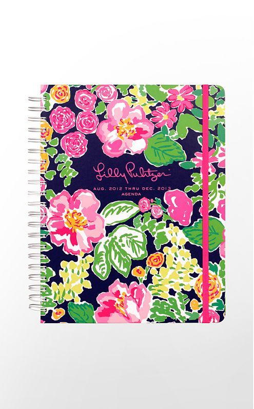 2013 Jumbo Agenda in Shorely Blue Big Garden By The Sea $33 (w/o 7/29/12) #lillypulitzer #fashion #style