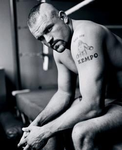 Chuck The Iceman Liddell...serves up the best gourmet knuckle sandwiches in the world.