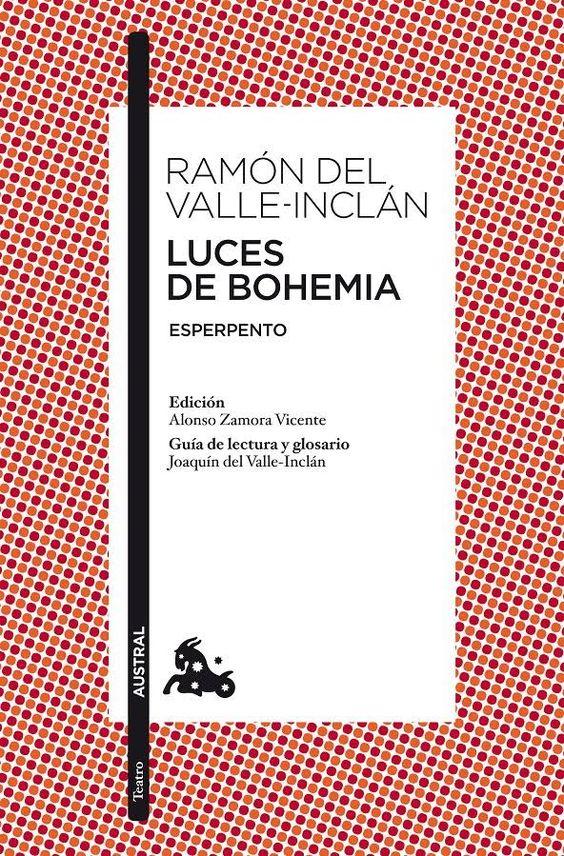"""""""Luces de Bohemia"""" este es el segundo libro (creo) que nos tenemos que leer."""