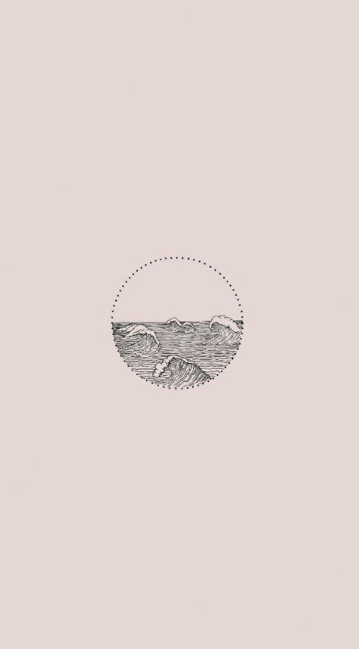 Phone Iphone Android Wallpaper Simple Aesthetic Pretty Pink Waves Water Bea Minimalist Wallpaper Minimalist Wallpaper Phone Desktop Wallpaper Simple