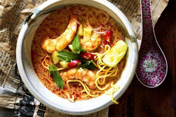 Curl up with a comforting bowl of coconut-based, curry-style laksa.