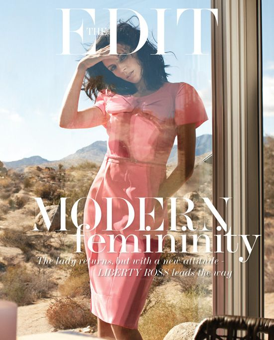 The Edit 14th March 2013 Liberty Ross by Laurie Bartley