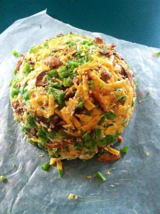 Jalapeno Cheddar Bacon Cheese Ball
