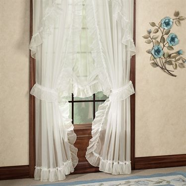 Jessica Ninon Ruffled Priscilla Curtains Curtains And Priscilla Curtains