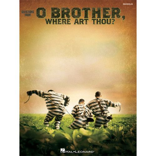 O Brother Where Art Thou Mandolin Solos Music Book