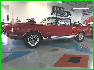 eBay: Ford: Mustang 1968 ford mustang shelby gt 350 convertibile #ford #mustang usdeals.rssdata.net