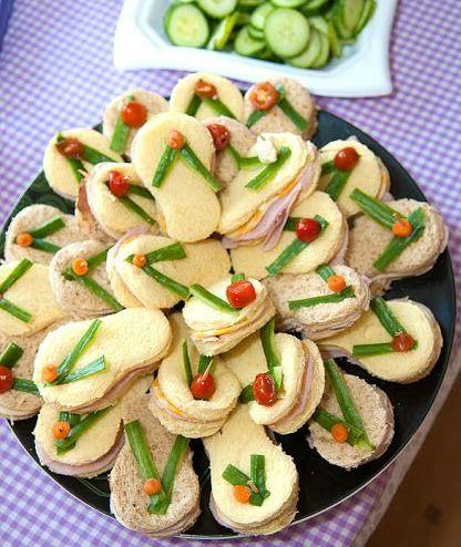 Flip Flop Sandwiches