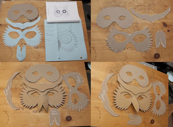 Cliff Note Simple Owl Mask | Flickr - Photo Sharing!