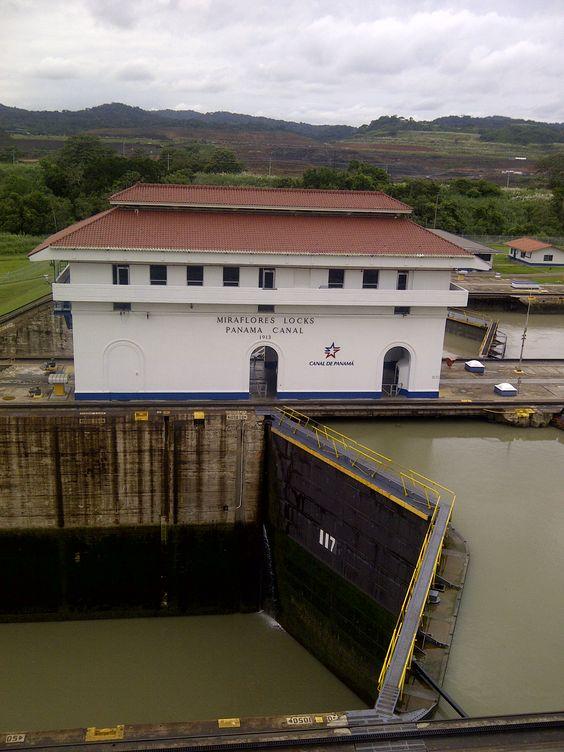 Canal de Panama - Esclusas de Miraflores