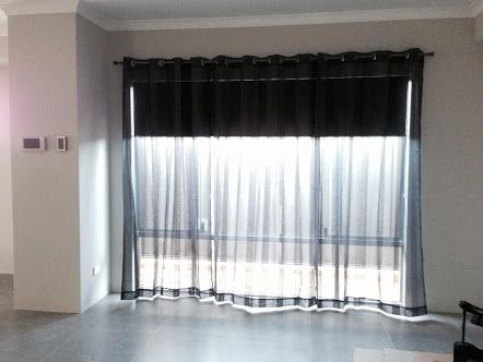 Roller Blind With Sheer Curtain Google Search Curtains