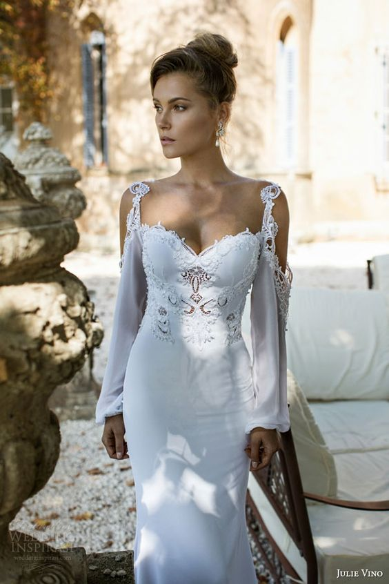 Julie Vino Fall 2015 Wedding Dresses — Provence Bridal Collection | Wedding Inspirasi: