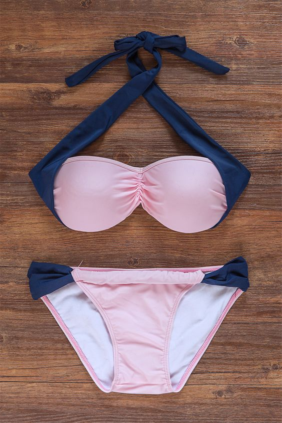 Busy with life as times goes by,sometimes you need such a pink cute swimsuit. Shop all new arrivals at OASAP.COM !