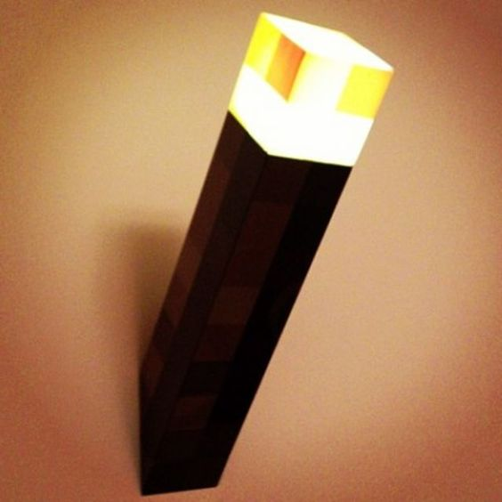 Minecraft Wall Torch