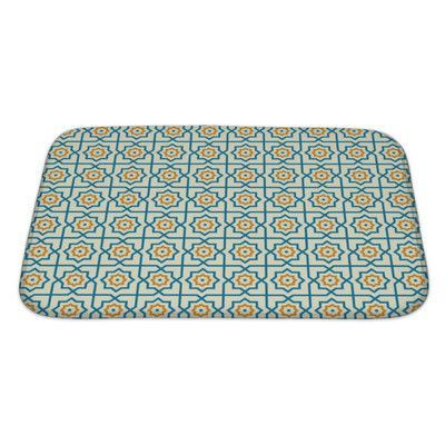 Gear New Primo Arabic Patterns Abstract Bath Mat/Rug Size: