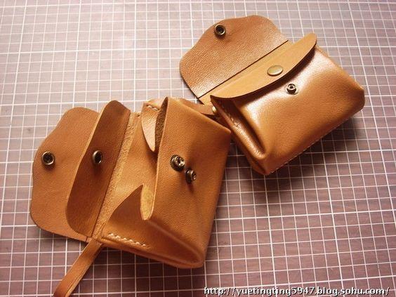 tuto porte monnaie cuir 1 sacs et accessoires pinterest artisanat sacs et tissus. Black Bedroom Furniture Sets. Home Design Ideas
