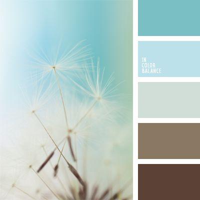 celeste claro, celeste y marrón, color azul celeste, color azul nuboso, color cacao, color café, combinación de colores, elección del color, marrón y azul claro, matices de color azul celeste pastel, tonos celestes.