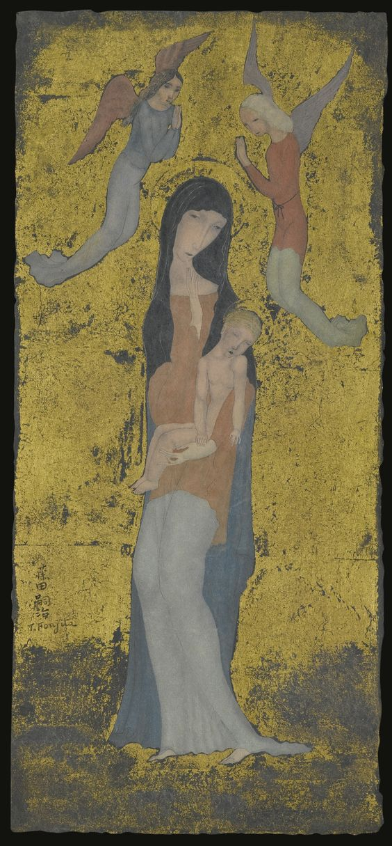foujita, tsuguharu mère et enfant | figures | sotheby's n09498lot8zdb6en: