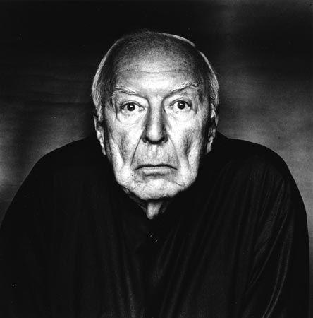 Jasper Johns by Irving penn