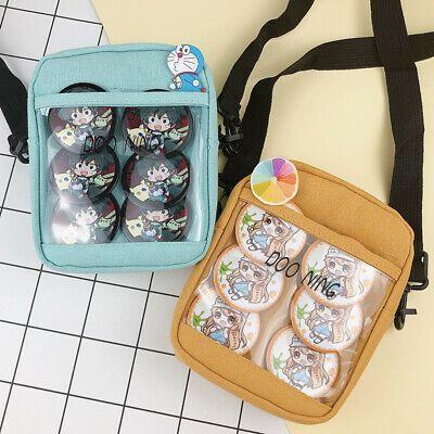 Japanese Transparent Itabag Shoulder Bag Cute Messenger Bag For Badge Doll Show