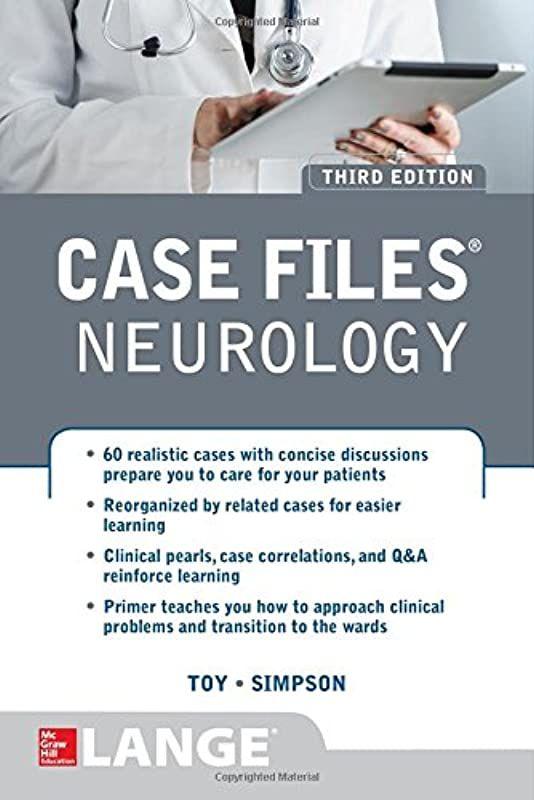 Pdf Case Files Neurology Third Edition Author Eugene Toy