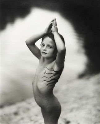 Sally Mann, Virginia at 6, from series Immediate Family, 1991