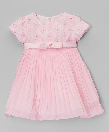 Look what I found on #zulily! Pink Flower Dress - Infant & Toddler by S Square #zulilyfinds