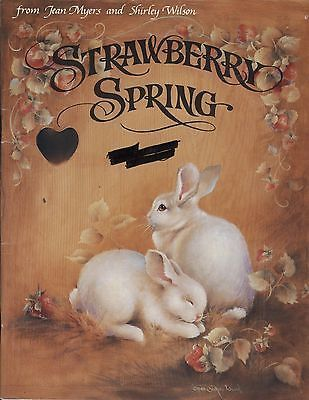 Shirley Wilson Artist Strawberry Spring By Jean Myers