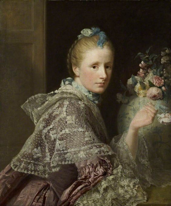 The Artist's Wife, Margaret Lindsay of Evelick (c.1726–1782)          by Allan Ramsay                                                                                                                Date painted: 1758–1760: