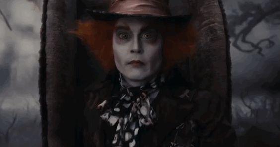 Johnny Depp & Mia Wasikowska Are Returning To The Rabbit Hole In 'Alice in Wonderland 2' !