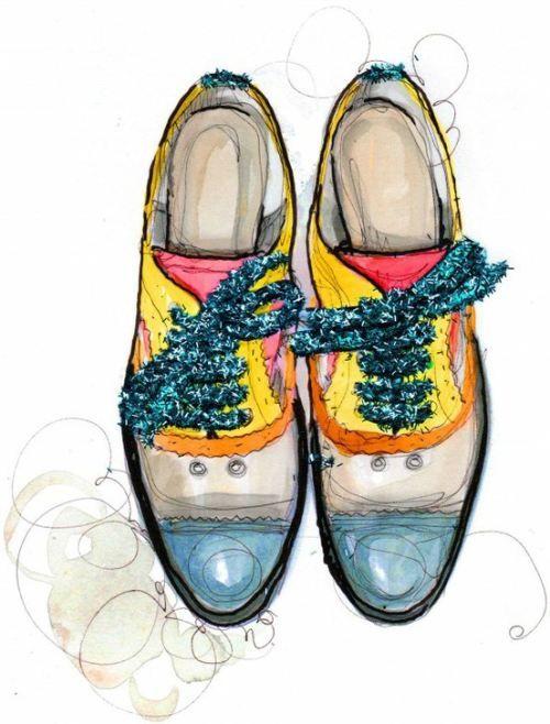 Shoes Illustration / Illustration de Chaussures