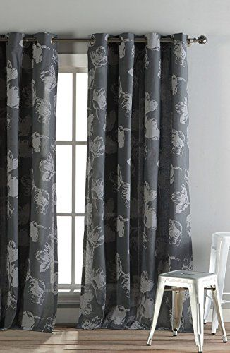 Curtains Ideas 54 curtain panels : Kensie Home Aster Curtains 2 Panels 54 x 84
