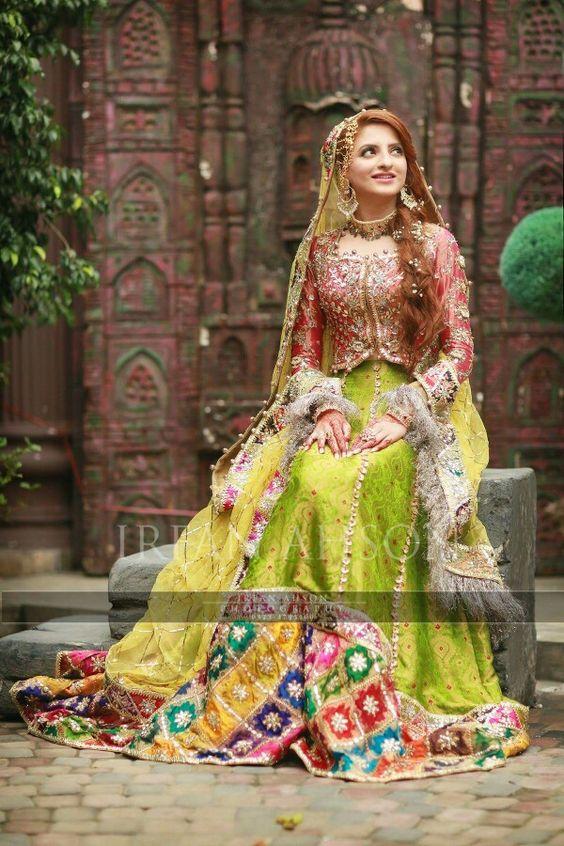 Pakistani Bride pinned by #sidrahYounas