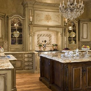 Elegant traditional kitchen h a b i t a t for Elegant traditional kitchens